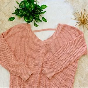 Pink Forever 21 Sweater